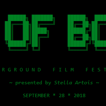 3rd Annual Pile of Bones Underground Film Festival - Presented by Stella Artois