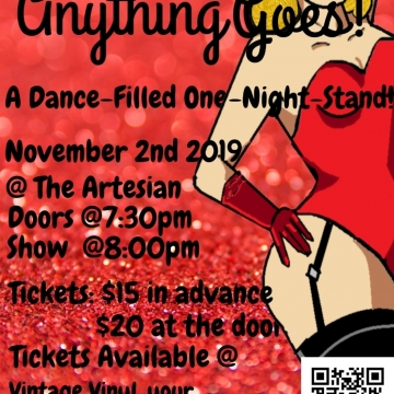 Anything Goes! A Dance-Filled One-Night Stand!