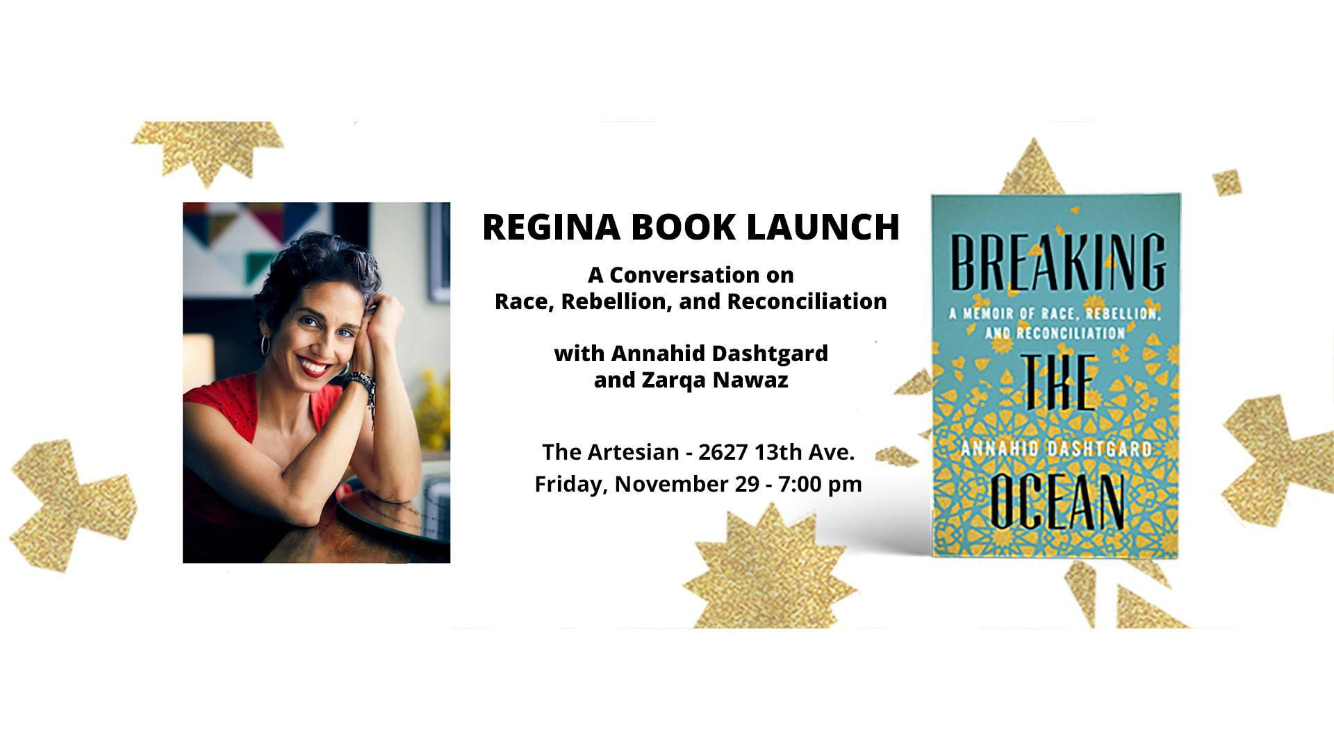 Breaking the Ocean Launch with Annahid Dashtgard and Zarqa Nawaz