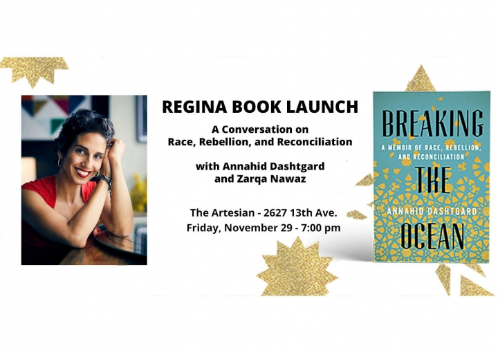 Breaking the Ocean Launch with Annahid Dashtgard and Zarqa Nawaz