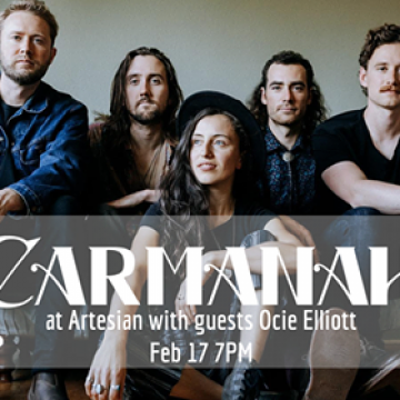 Carmanah with special guest Ocie Elliott