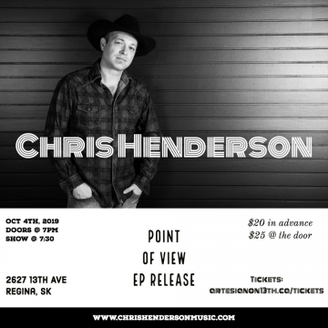 Chris Henderson - Point of View CD Release Party