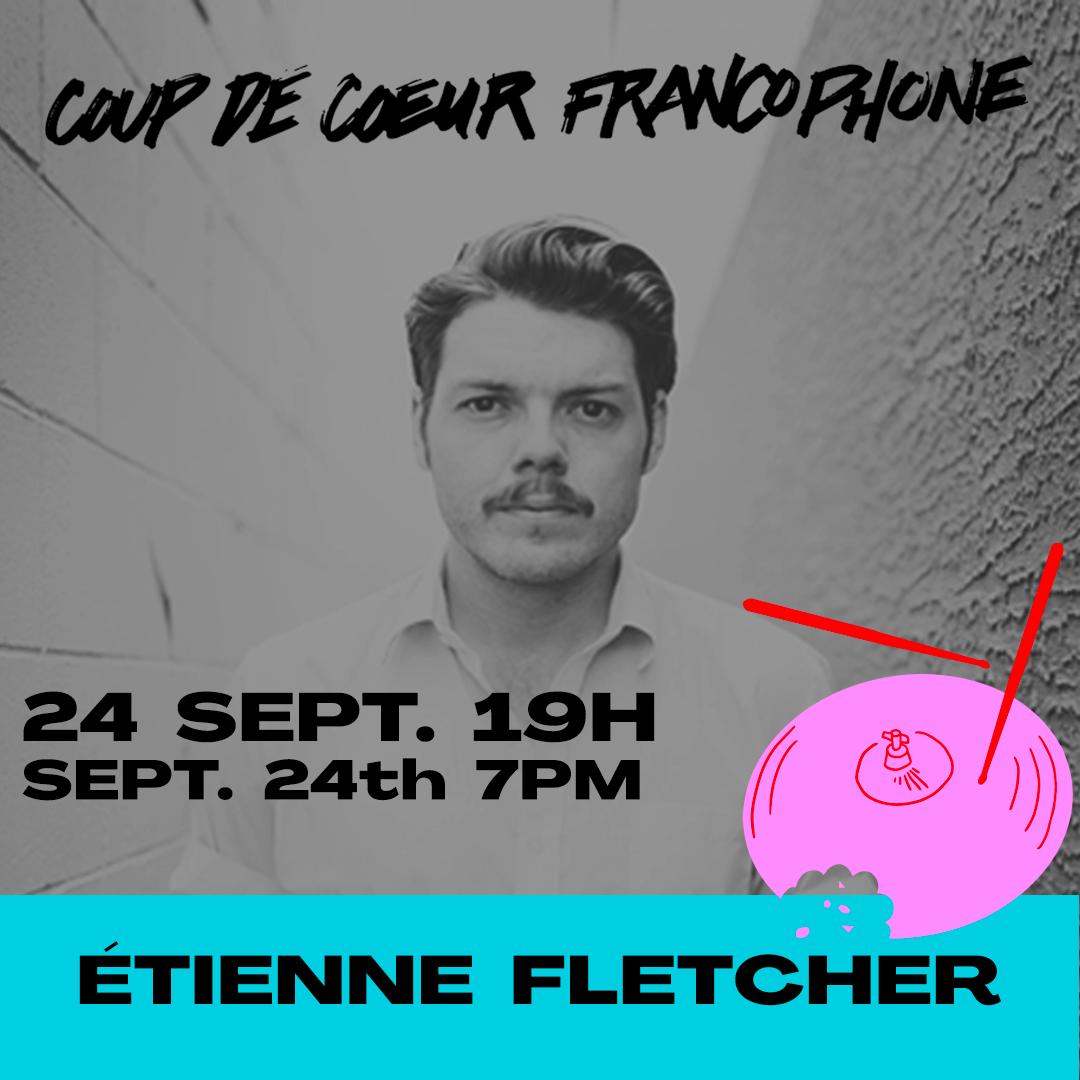 Étienne Fletcher au Artesian