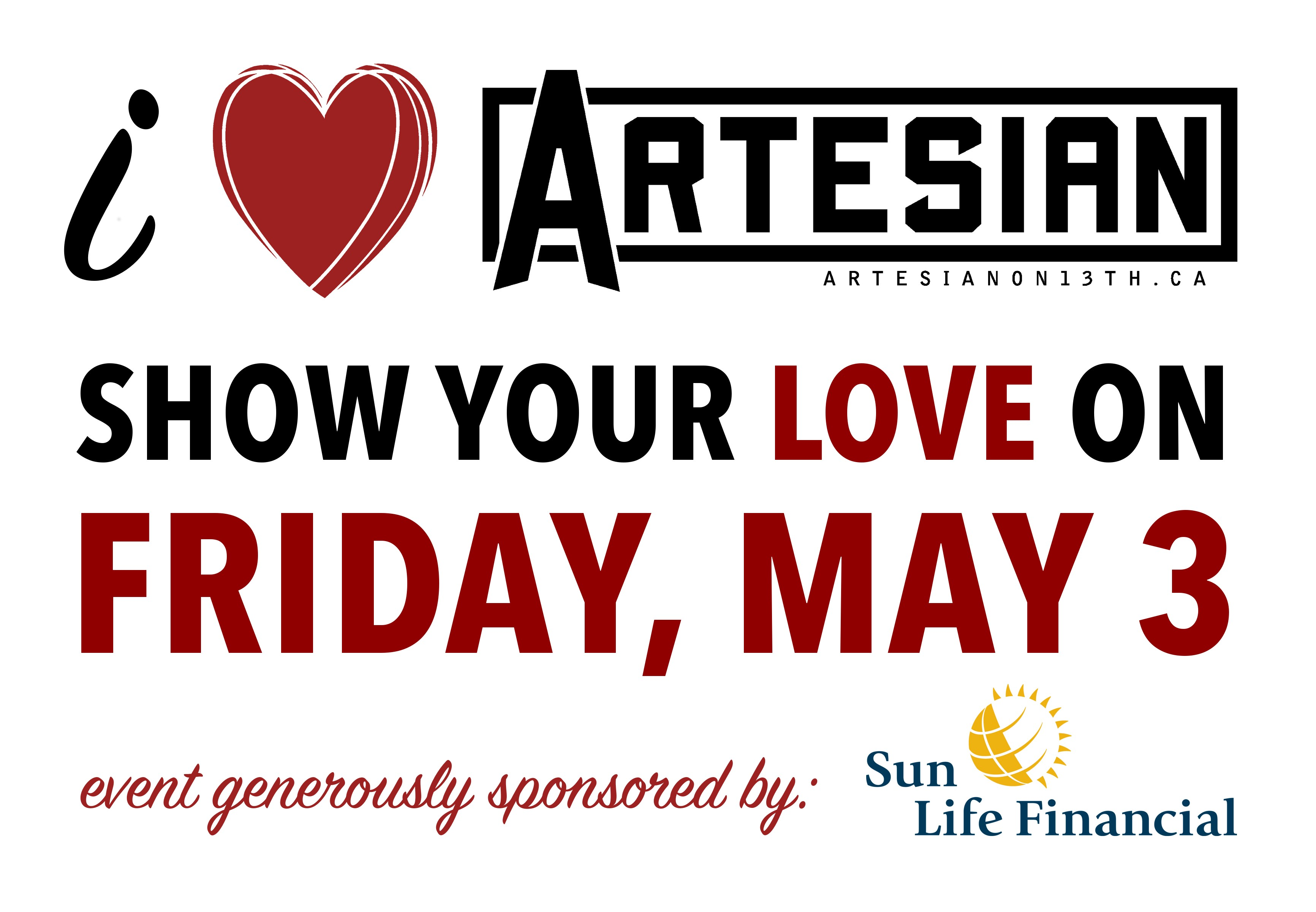 I Heart Artesian w/ Megan Nash, Kris Alvarez, and more!
