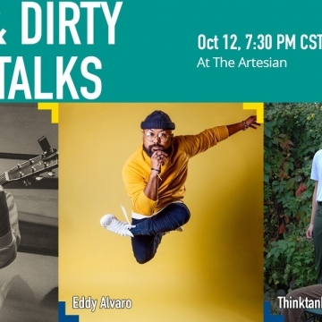 In-Person Quick & Dirty Artist Talks - Play