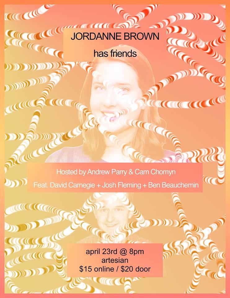 Jordanne Brown has Friends