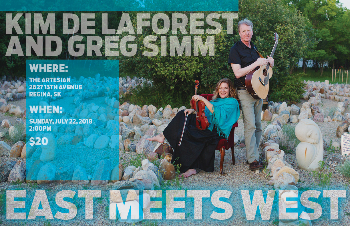 Kim de Laforest and Greg Simm