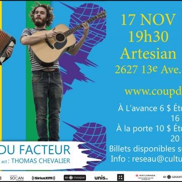 Les Fils du Facteur- Spectacle Coup de coeur francophone 2019
