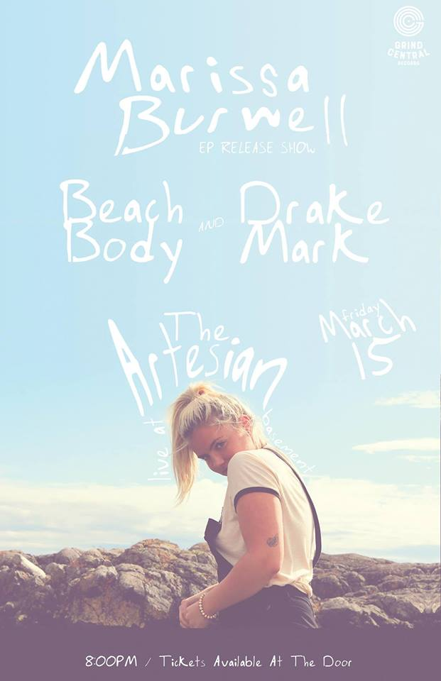 Marissa Burwell EP Release w/ Beach Body and Drake Mark