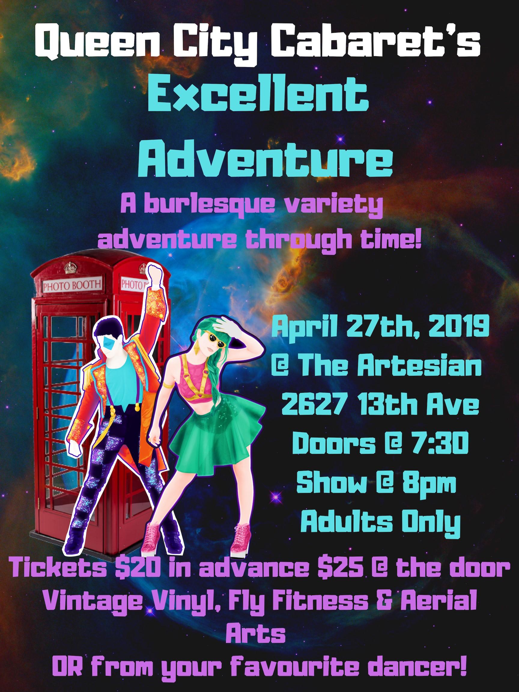 Queen City Cabaret's Excellent Adventure