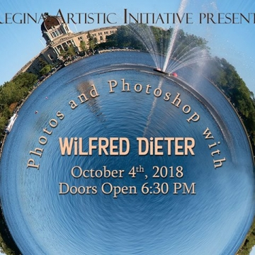 RAI Closing Reception - Photos and Photoshop with Wilfred Dieter