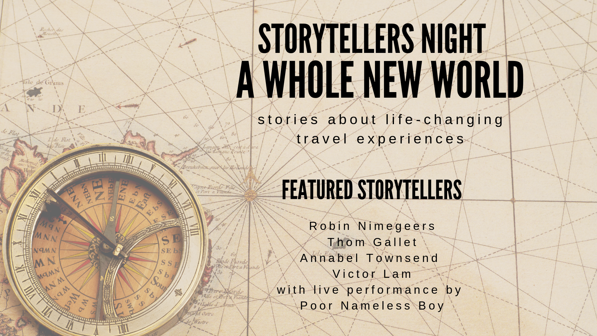 Storytellers Night: A Whole New World