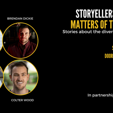 Storytellers Night: Matters of the Heart - Stories about the diverse nature of love.