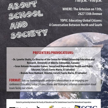 Talkin' About School & Society: Global Citizenship & Solidarity