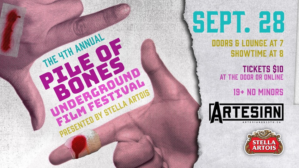 The 4th Annual Pile of Bones Underground Film Festival