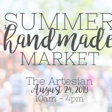 The Wren's Summer Handmade Market