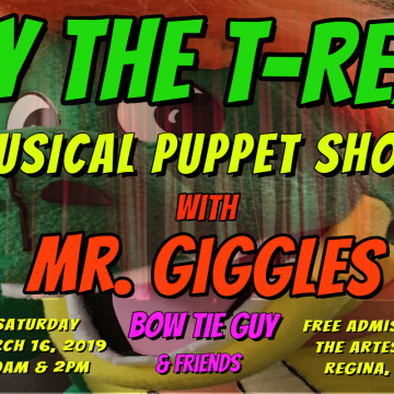 Ty the T-REX Musical Puppet Show (FREE)