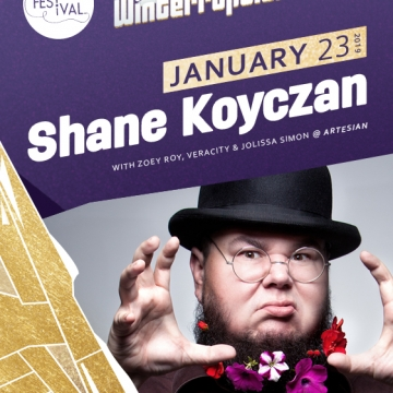 Winterruption - Shane Koyczan w/ Zoey Roy, Veracity, and Jolissa Simon