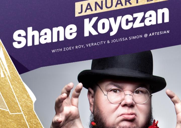 Winterruption - Shane Koyczan w/ Zoey Roy, Veracity, and Jolissa Simon