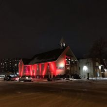 Today is National Day of Remembrance and Action on Violence Against Women in honour of the lives taken during the École Polytechnique massacre 29 years ago. Tonight the Artesian is lit red to draw attention to the need for action on violence against wome
